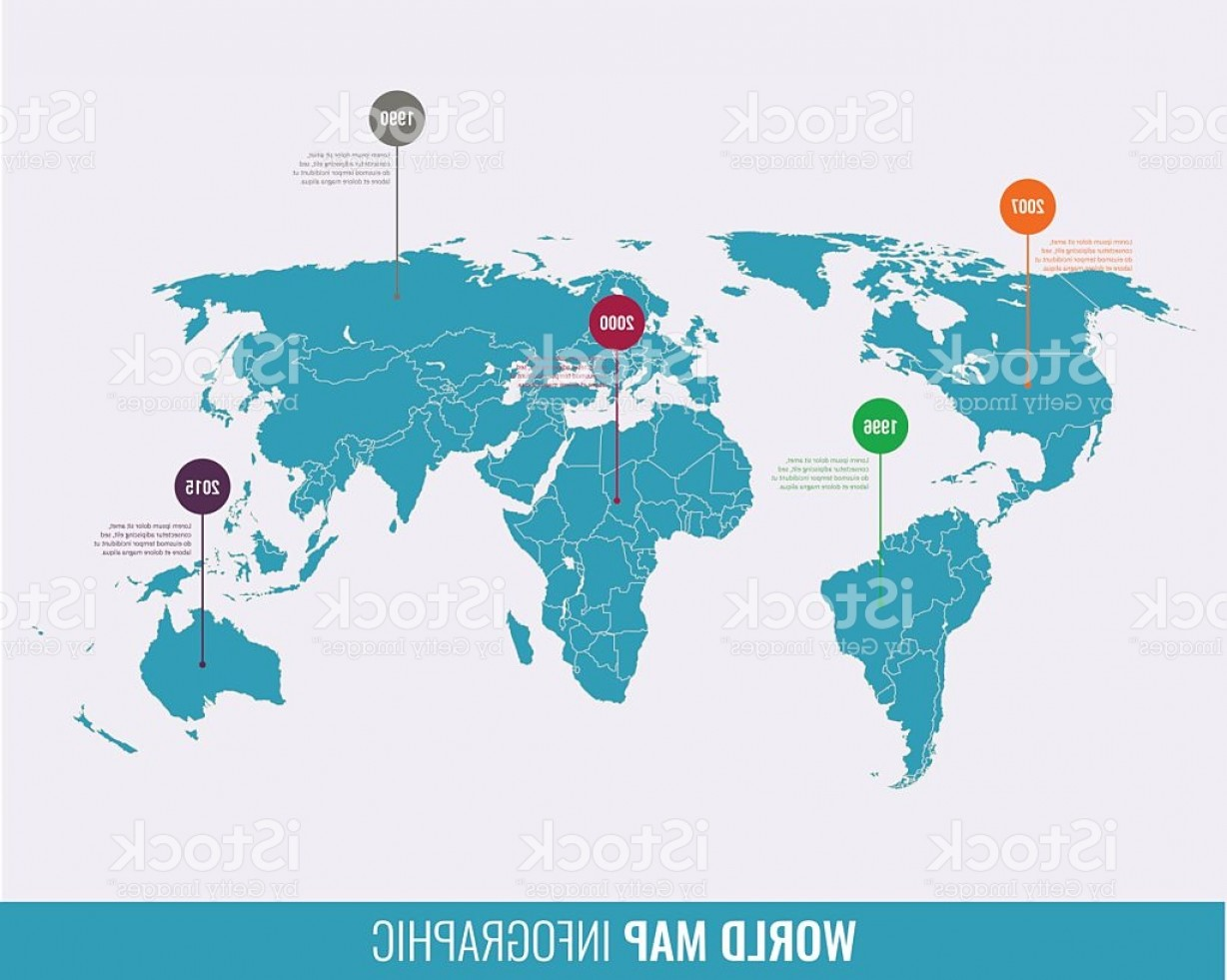 Vector Globe Countries: World Map Infographic Template All Countries Are Selectable Gm