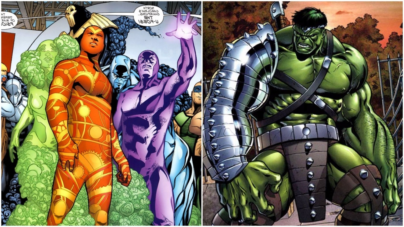 Hulk Origional Vectors: World War Hulk And U Foes Vs Thor And Loki