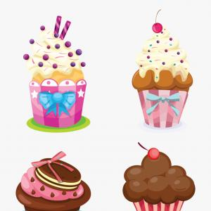 Free Cupcake Vector: Wrboromuffin Png Download Png Image With Transparent Background