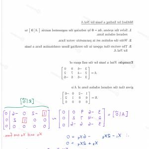 Parametric Vector Form Linear Algebra: Advanced Math Archive January