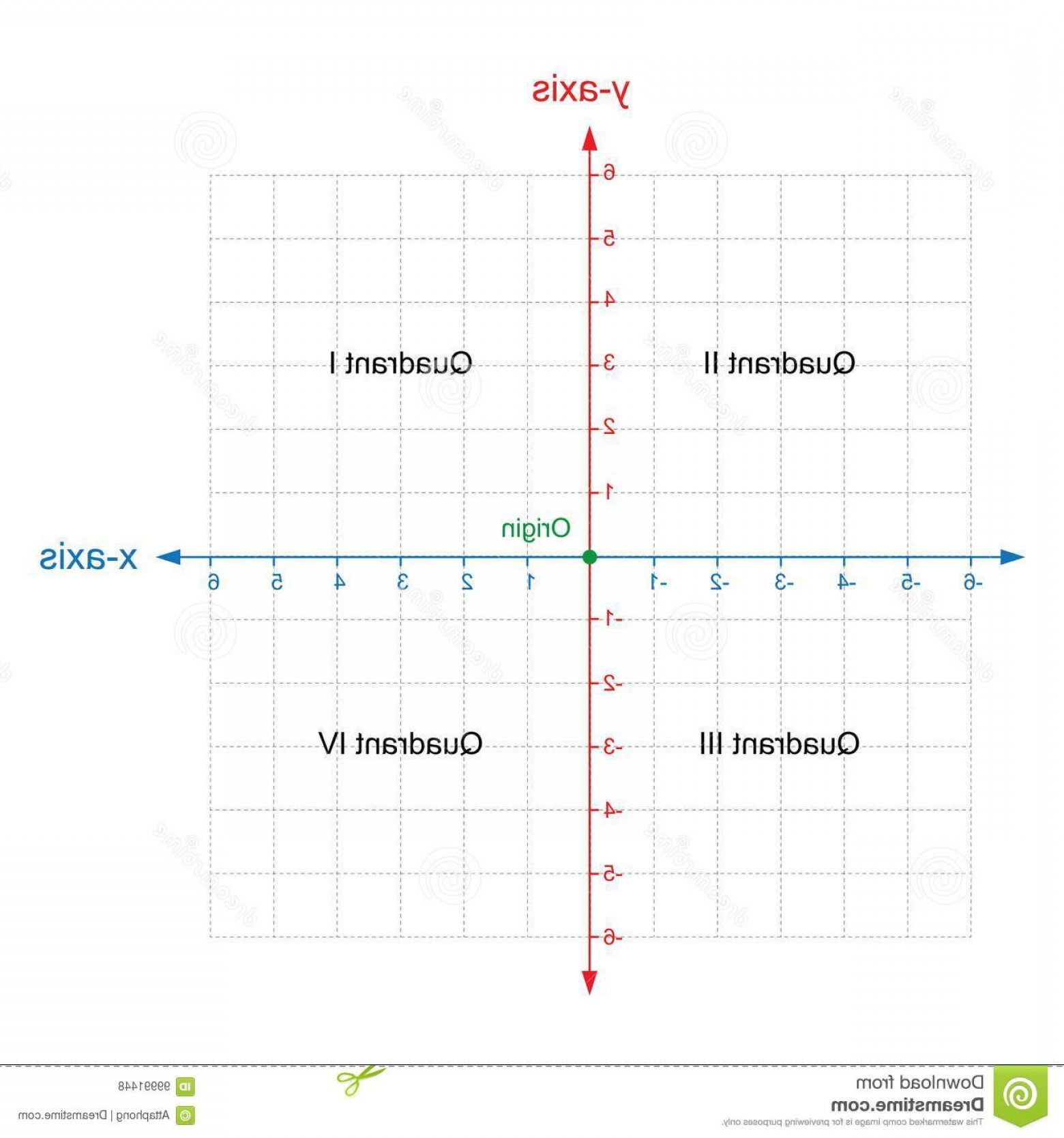 Coordinate Plane Vector Magnitude Direction: X Y Axis Cartesian Coordinate Plane System Colored White Background Vector Y Axis Cartesian Coordinate Plane System Image