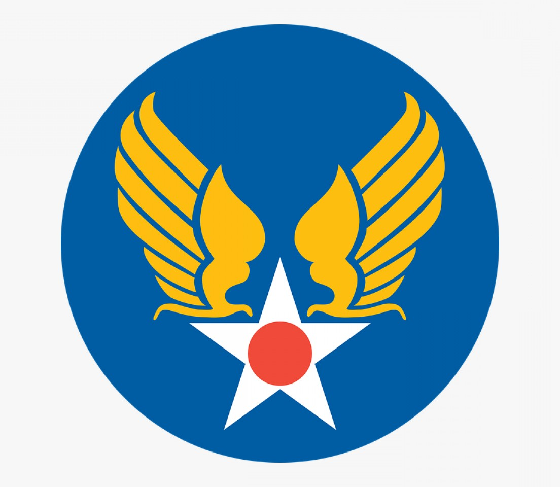 United States Armed Forces Logo Vector: Xjhrrfree Vector Us Army Air Corps Shield Clip