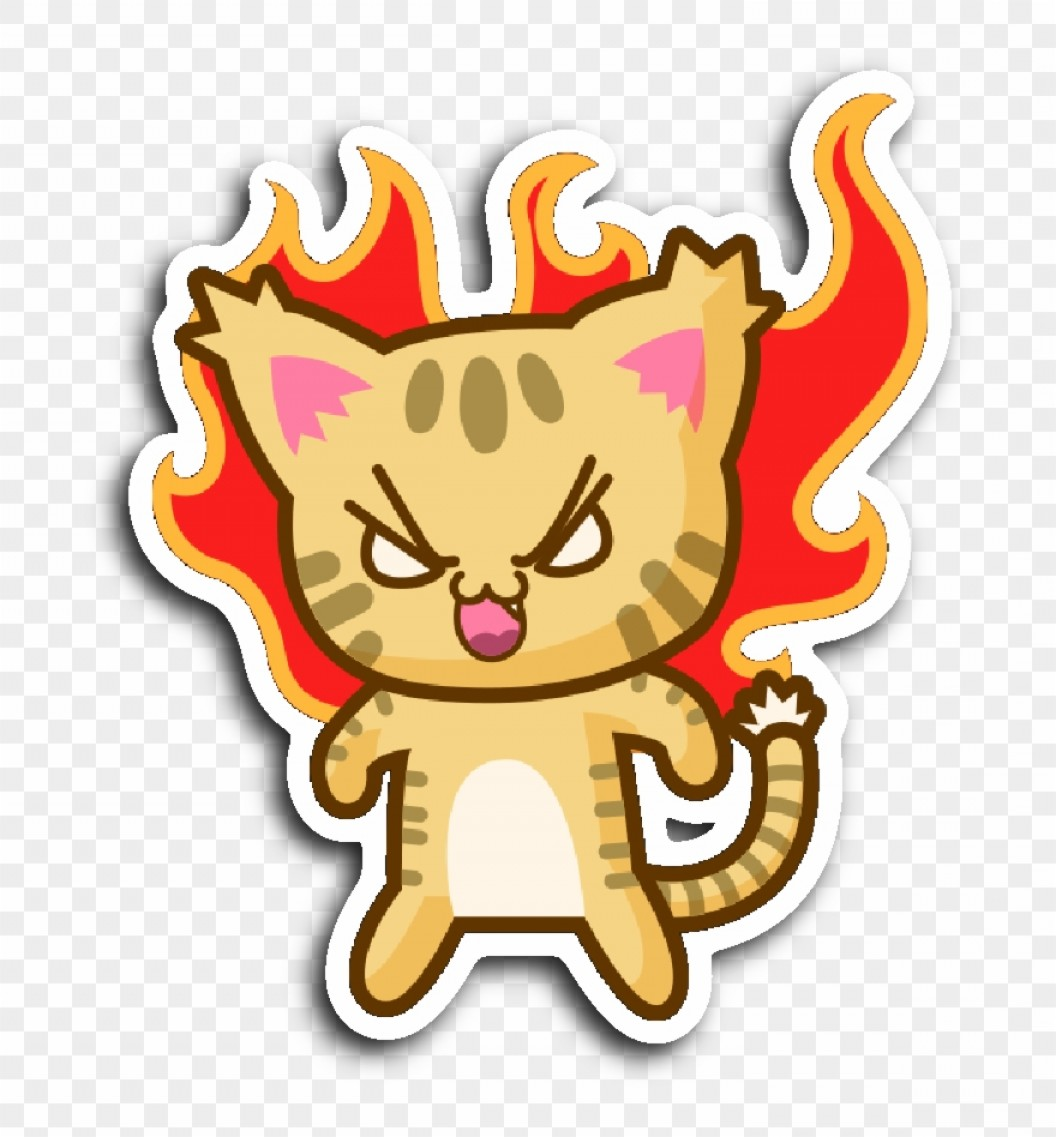 Rip N Dip Vector: Xmbbhrcute Cat Stickers Series Vector Graphics Clipart