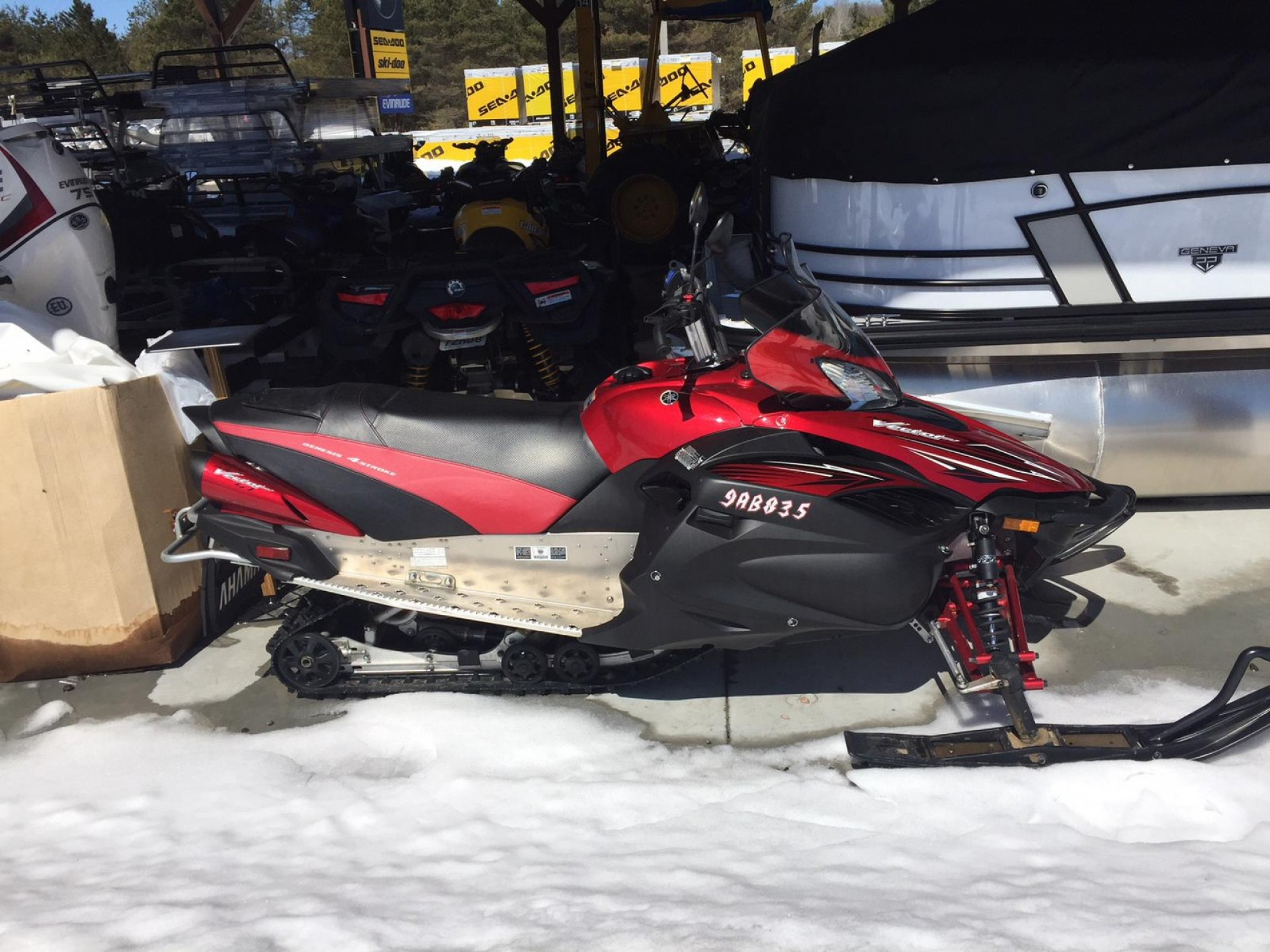 2011 Yamaha Vector Black: Yamaha Rs Vector Gt For Sale In Ontario