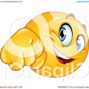 Emoji Fist Bump Vector Graphic: Yellow Emoji Smiley Face Emoticon Doing A Fist Bump
