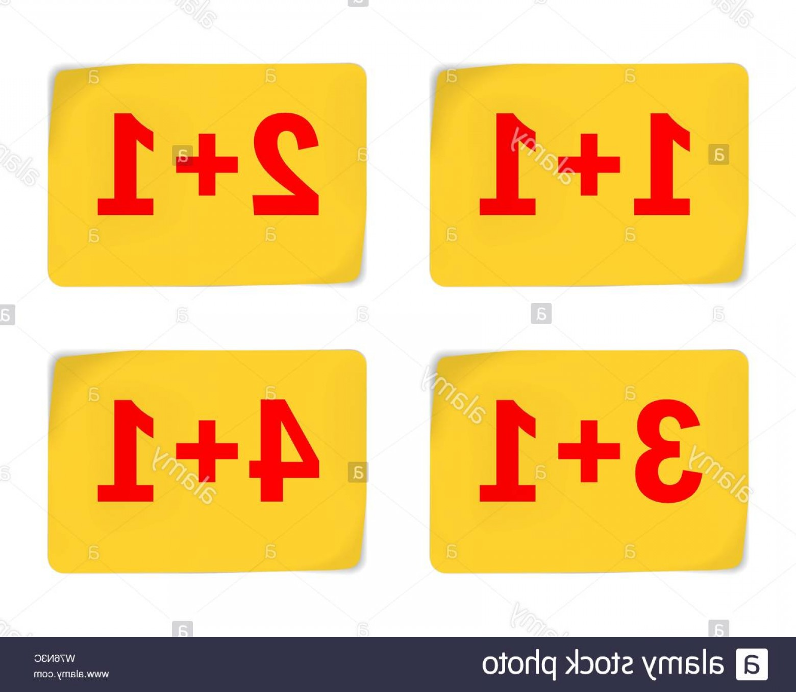 1-1 Vector: Yellow Stickers For Special Offer Design Vector Illustration Buy Get Free Image