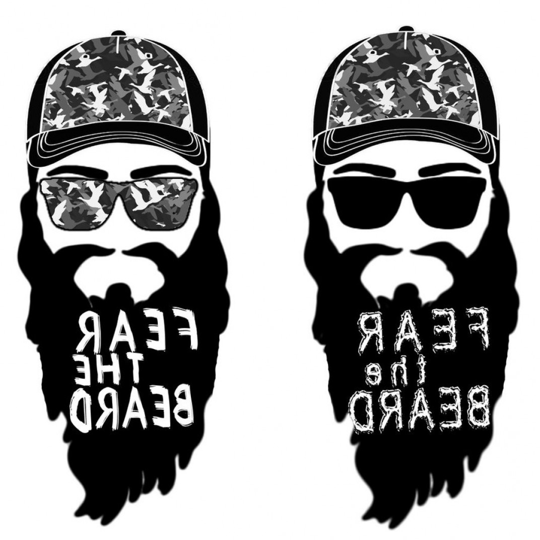 Fear The Beard Vector: Yoni Fear The Beard Urban