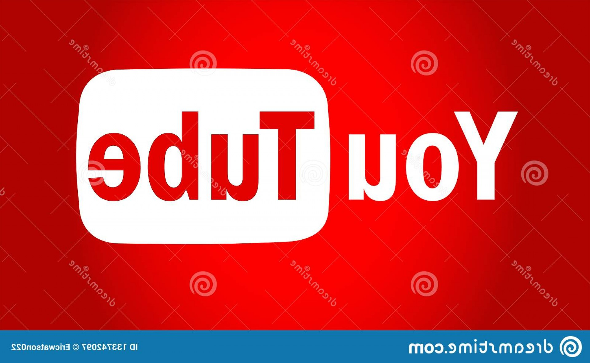 YouTube RedVector Real Life: Youtube Text Logo Icon Vector Youtube Text Logo Icon Red Vector Ai Additional Red Background Image